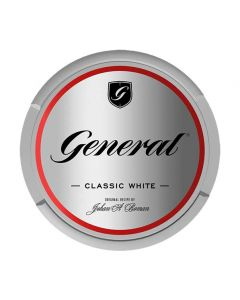 General Cut Titanium White Extra Strong Chew Bags