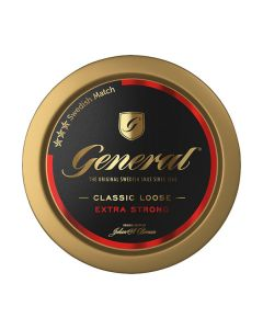 General Extra Stark Extra Strong Loose Snus
