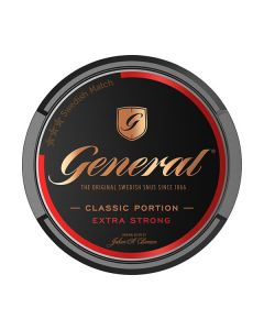 General Extra Strong Portion Snus