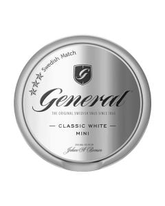 General White Mini Portion