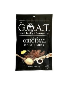 The Goat Beef Jerky Korean BBQ, 2.5oz, Bag.