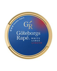 Göteborgs Rapé Lingon White Portion Snus