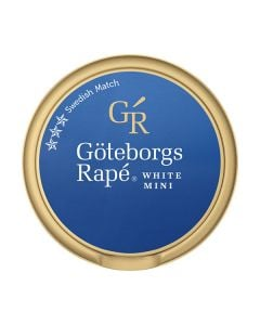 Göteborgs Rapé White Mini Portion Snus