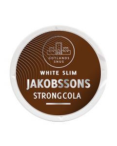 Jakobssons Melon Slim, Strong Dry White Portion Snus