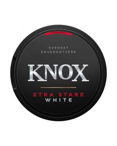 Knox Klassisk Stark Vit Strong White Portion