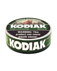 Kodiak Wintergreen Long Cut