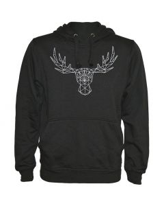 Our Logo Black Hoody - Size: Large