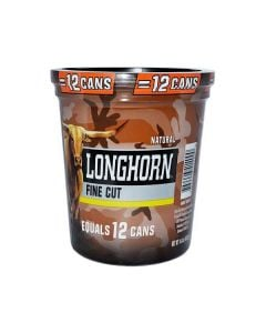Longhorn Natural Large Tub, 14.4oz, Fine Cut