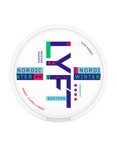 LYFT Nordic Winter Limited Edition, Slim All White Portion