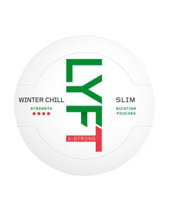 LYFT Winter Chill X-Strong Slim All White Portion