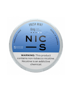 NIC-S Fresh Mint 6MG Nicotine Pouches