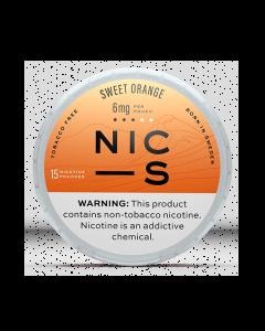 NIC-S Sweet Orange 6MG Nicotine Pouches