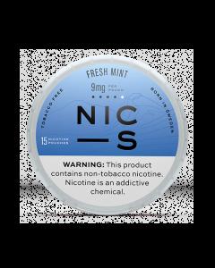 NIC-S Fresh Mint 9MG Nicotine Pouches