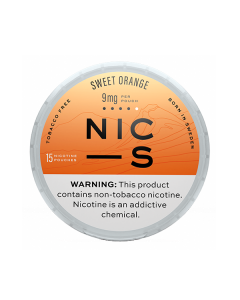 NIC-S Sweet Orange 9MG Nicotine Pouches