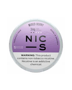 NIC-S Mixed Berry 3MG Nicotine Pouches