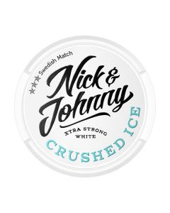 Nick & Johnny Crushed Ice Extra Strong White Portion