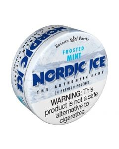 Nordic Ice Frosted Mint American Snus