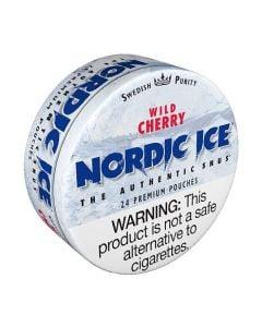 Nordic Ice Wild Cherry, American Snus