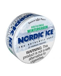 Nordic Ice Wintergreen American Snus