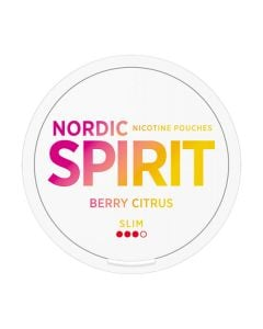 Nordic Spirit Nordic Spirit Berry Citrus All White Portion