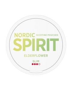 Nordic Spirit Elderflower Slim All White Portion