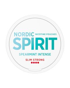 Nordic Spirit Spearmint Intense Strong Slim All White