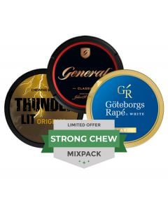 Strong Chew Mixpack, 3-pack