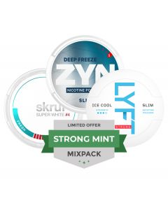 Strong Minty Mixpack, 3-pack