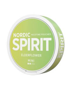 Nordic Spirit Elderflower Mini Normal Nicotine Pouches