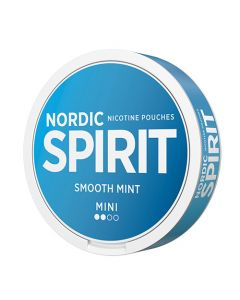 Nordic Spirit Smoot Mint Mini Normal Nicotine Pouches