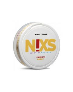Nixs Minty Lemon All White Nicotine Pouches