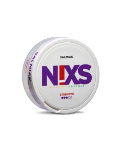 Nixs Salmiak All White Nicotine Pouches
