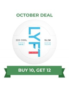 LYFT Ice Cool Mint Strong Slim White Portion