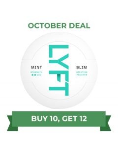 Epok Ice Cool Mint Strong Slim White Portion Snus