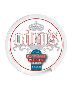 Odens Cold Slim White Extra Strong Chewing Bags