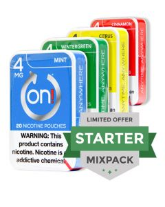 on! 4mg Mixpack
