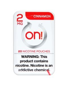 on! Cinnamon 2mg Dry White Mini