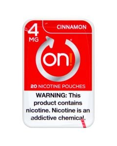 on! Cinnamon 4mg Dry White Mini