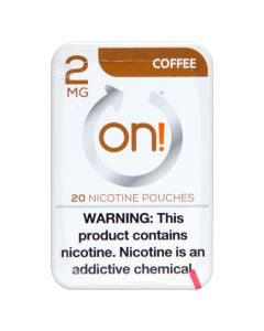 on! Coffee 2mg Dry White Mini