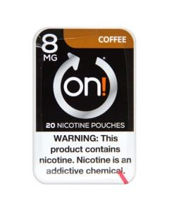 on! Coffee 8mg Dry White Mini