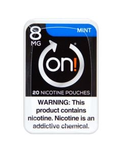 on! Mint 8mg Dry White Mini