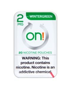 on! Wintergreen 2mg Dry White Mini