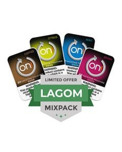On! Lagom Mini Dry Strong Nicotine Pouches 4 Can Mixpack