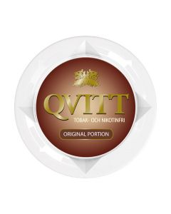 Qvitt Original, Tobacco Free Portion