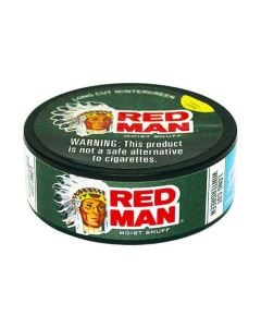 Red Man Wintergreen Long Cut