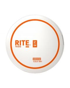 RITE Cold Dry Medium White Chew Bags