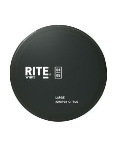 Rite Citrus And Juniper Berries White Extra Strong Swedish Snus