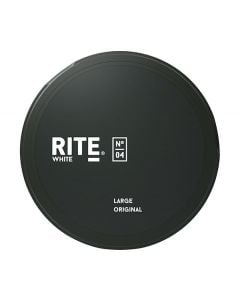 RITE Original Slim White Chew Bags