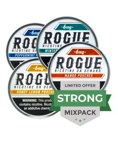 Rogue Mango 3mg, All White Nicotine Pouches