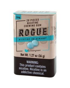 Rogue Peppermint 2mg, Nicotine Chewing gum